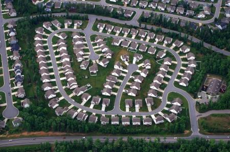suburban neighborhood: suburban neighborhood