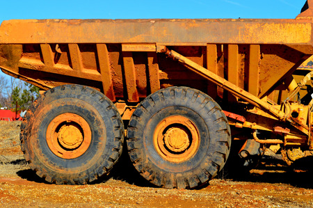 earth moving: heavy construction equipment