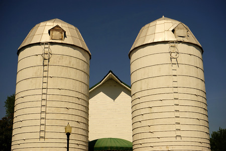 agribusiness: farm storage silos