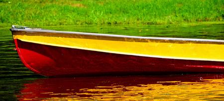 colorful small boat