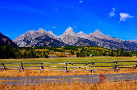 Backroad at Grand Teton Park, WY