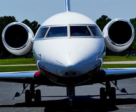 corporate jet: corporate jet aircraft