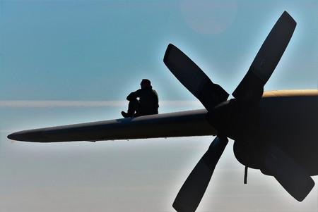 airman keeping watch