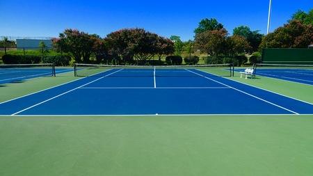 야외 테니스 코트