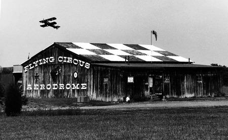 Flying Circus, Bealton, VA September 2017 Редакционное
