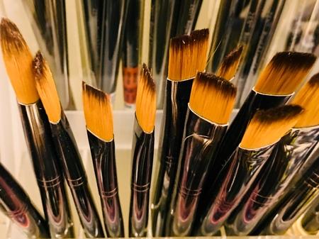 Paint brushes Stok Fotoğraf