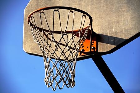 バスケット ボール ネットと縁
