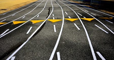 Running track Banco de Imagens - 94207361