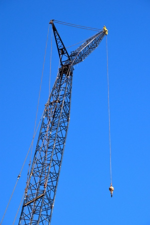 Construction crane Stockfoto - 95919819