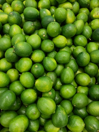 Fresh limes Reklamní fotografie
