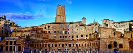 ancient plaza Rome, Italy