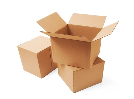 Cardboard boxes Stock Photo - 17547773