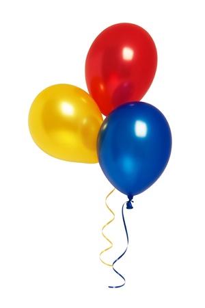 globos de cumpleaños: Globos Foto de archivo