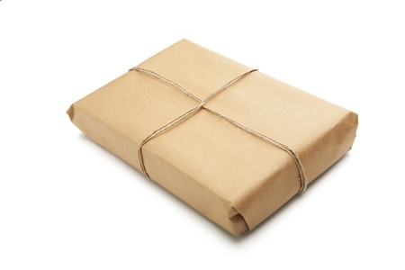 Brown Parcel Stock Photo - 17649090