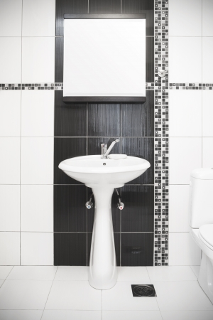 Modern bathroom Stock Photo - 17577136