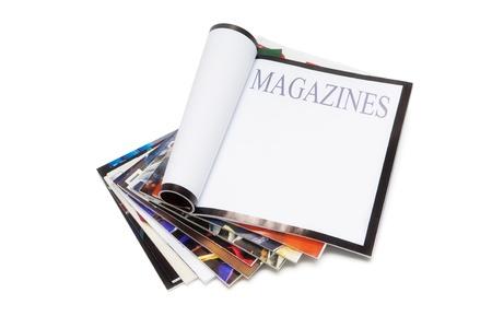 magazine stack: Magazines