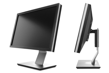 profile views: Computer monitor