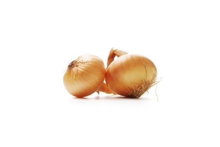 Onion on white background Stock Photo - 17649173