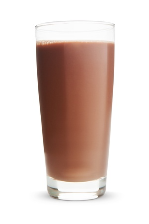 tomando leche: Chocolate milk