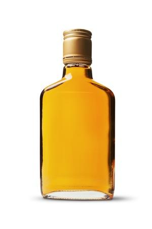 Brandy bottle photo