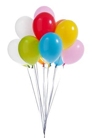 red balloon: Colorful balloons
