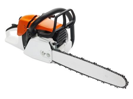 Chainsaw - professional petrol chain saw Stock Photo - 17651093