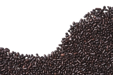 vermicelli: Chocolate sprinkles Stock Photo