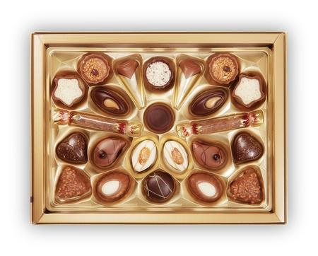 Chocolate Candy Box photo