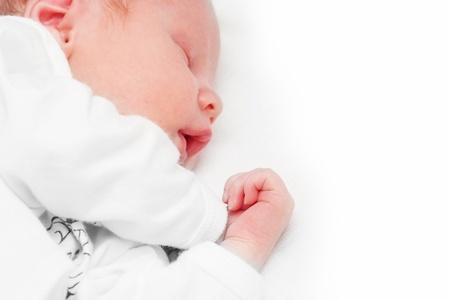 Newborn baby sleeping Stock Photo - 17643870