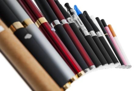 Elektronische Zigarette Standard-Bild