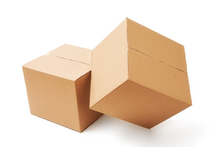 Cardboard boxes Stock Photo - 17651246
