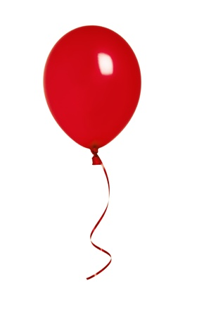 birthday balloon: Red Balloon