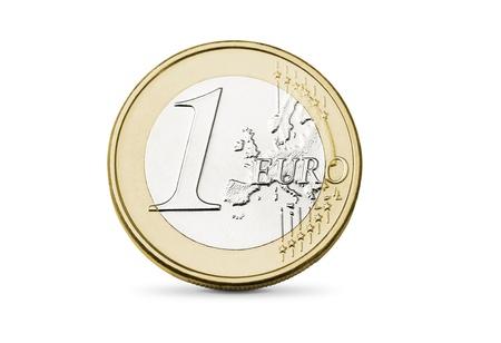One euro coin Stock Photo - 17651217