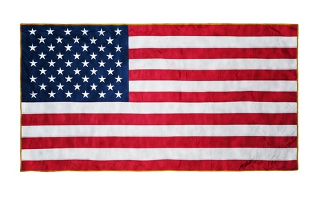 american states: American flag