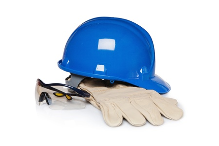 safety goggles: Construction worker protection