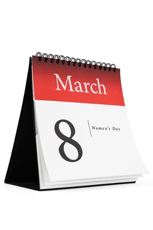 eight note: 8 March -International Women s Day