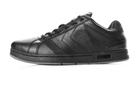 Black sneaker Stock Photo - 17982193
