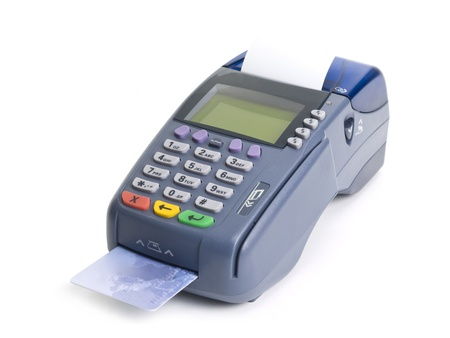 Credit card terminal Stock Photo - 18017207