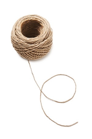 hank: Hank of rope Stock Photo