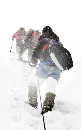 mountaineering: Alpine expedition