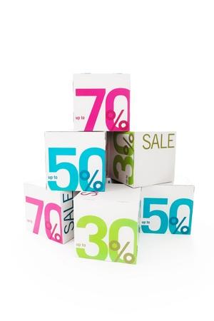 Symbol of sale Stock Photo - 18640571