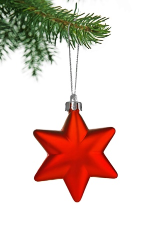 Christmas composition with star