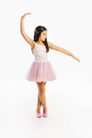 danseuse: Belle petite danseuse ballerine Banque d'images