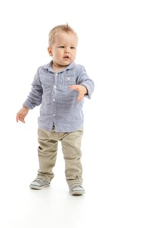 One year old little baby boy Stock Photo - 20836400