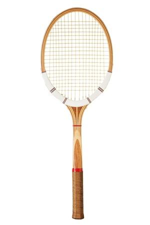 ビンテージ テニス ラケット 写真素材