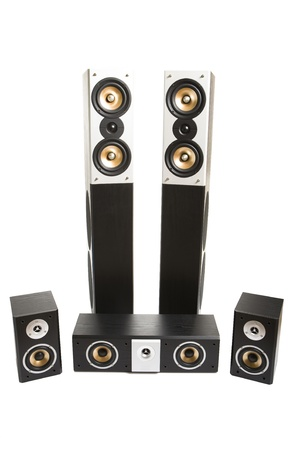 high powered: Surround system