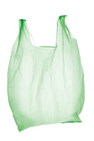 Plastic bag Stockfoto