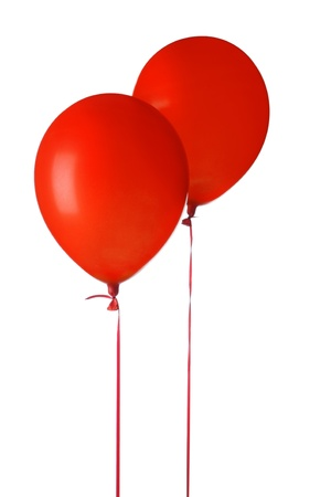 Red balloons Stock Photo - 21289579