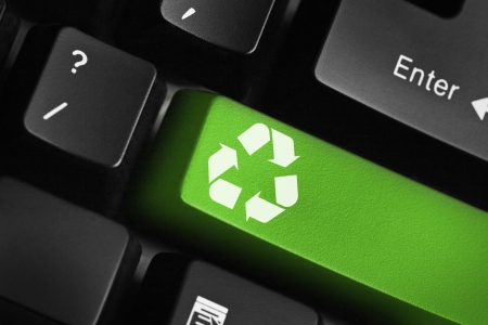 environmental conservation: Recycle key