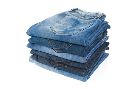 Stack jeans photo